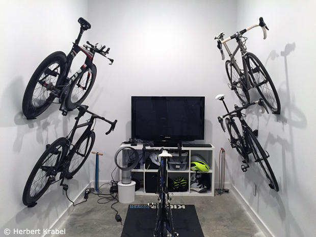 The making of a Pain Cave
