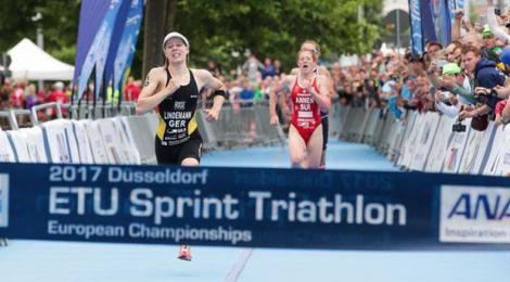 Laura Lindemann wins European Sprint Championship