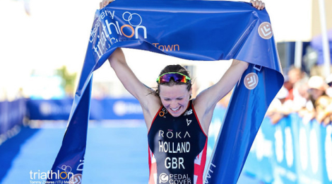 Brit Olympians Holland and Stanford dominate Cape Town World Cup