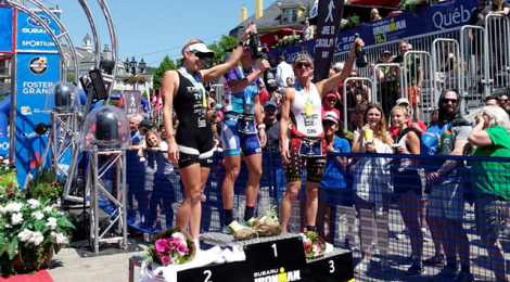 Carfrae, Laundry prevail at Mont-Tremblant 70.3