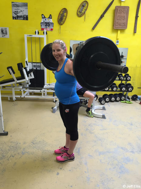 Kikkan Randall talks Pregnancy and Training
