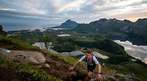 Images from the Arctic Triple - Lofoten Triathlon
