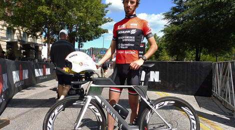 The young German who went 4:07:21 at IM 70.3 Worlds