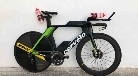Up close with Frederik Van Lierde's new Cervelo P5