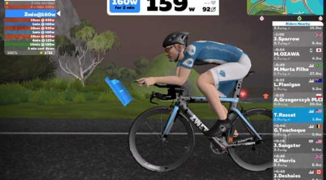 Zwift:  A Potent Tool for Training
