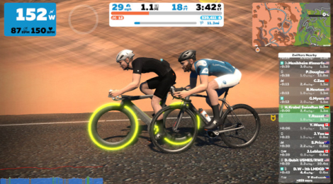 Zwift Meetups: So Happy Together!