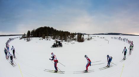 Nordenskiöldsloppet - 220km on skis in Sweden