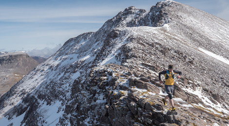 The man who loves mountains and races that go up them