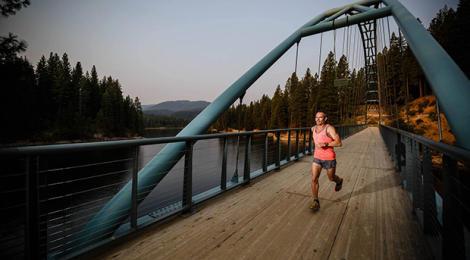 Running, running and running