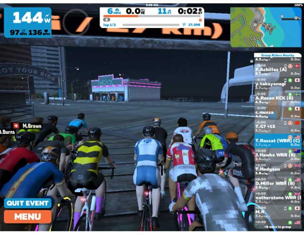 On Zwift Every Day is Race Day - Slowtwitch com