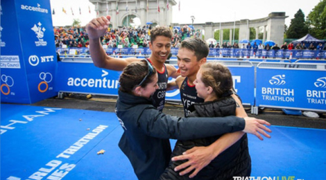 Great Britain takes WTS Nottingham Mixed Relay