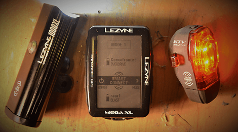 Lezyne Smart Connect LED Light Combo