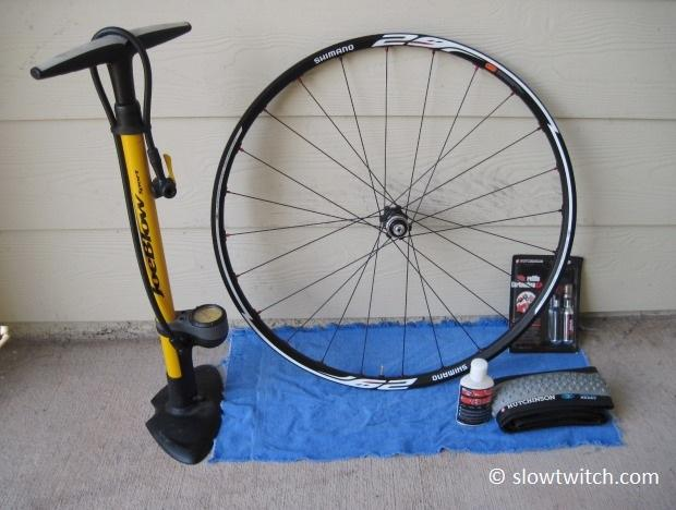 Install tubeless tires road bike