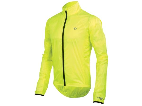 More Mile Elite Mens Cycling Jacket Reflective Hi-Vis High Visibility Orange Bik
