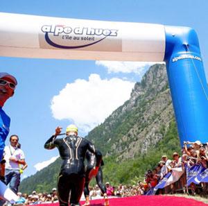 Nicholls, Ellis take Alpe D'Huez Tri