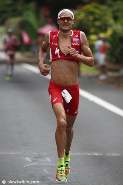 Jan Frodeno Kona 14 Top 15 men run Slowtwitchcom