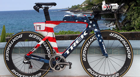The patriotic Trek Speed Concept of Timothy O'Donnell