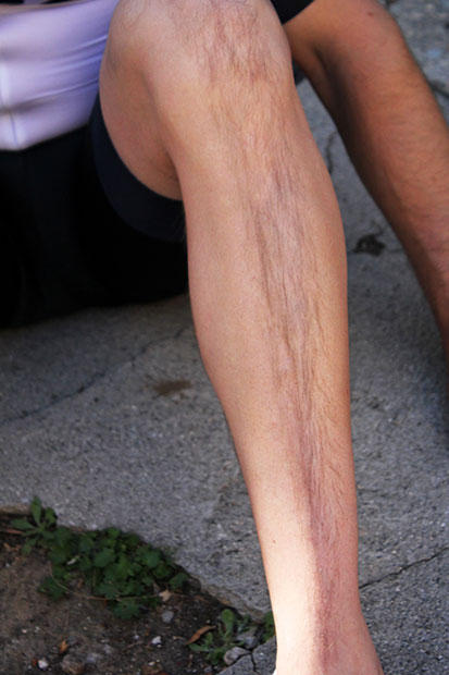Twinks with hairy legs