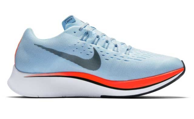 7cd0a1eeaac The difference in weight is due in large part to the different midsole  material. The regular Zoom Fly is made of Lunarlon